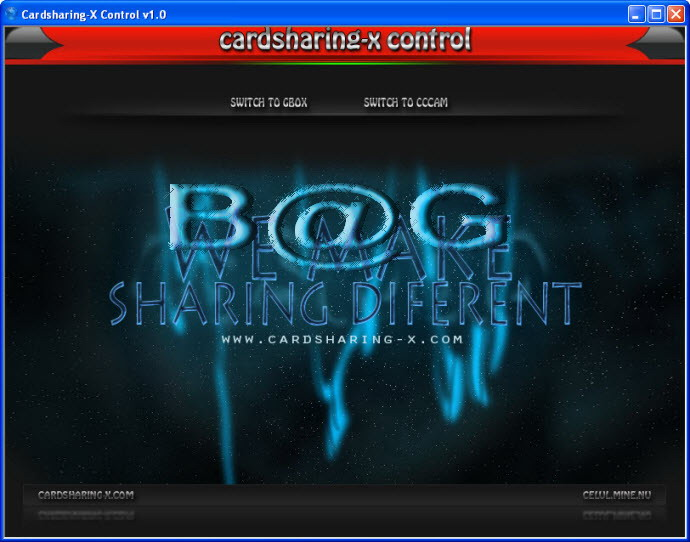 CCcam & Gbox Control Centar