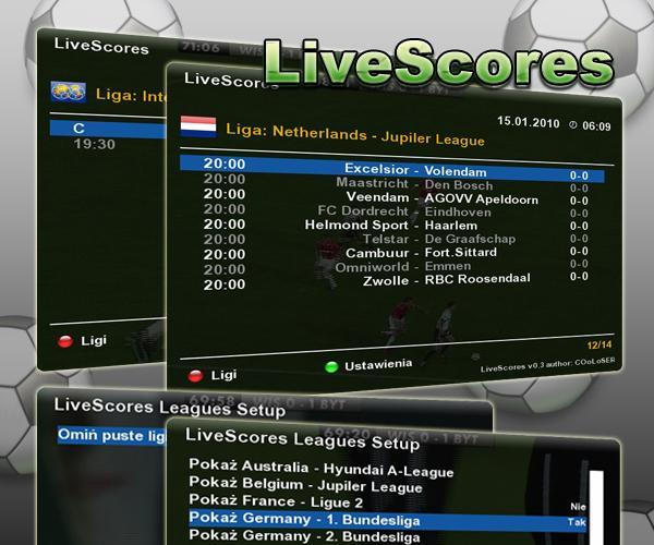 LiveScores v0.4