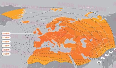 ظهورقنوات لباقة فرنسية على قمر Eutelsat W2A at 10.0°E