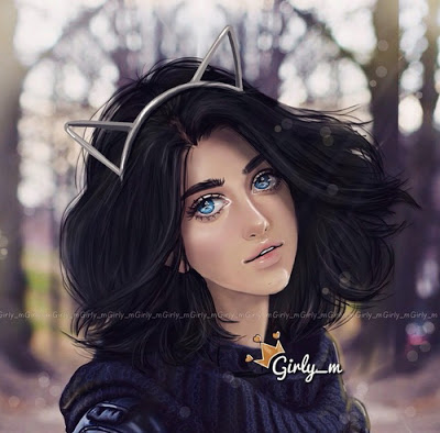 صور بنات جميلات كرتون للفيس بوك 2019 رمزيات بنات كرتونية جامدة