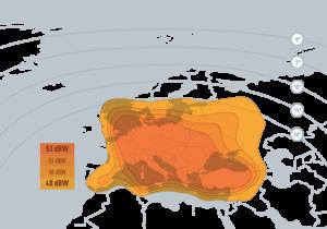 أقوى تردد لاستقبال قمر Eutelsat W2 الموقع المداري 16 شرقا