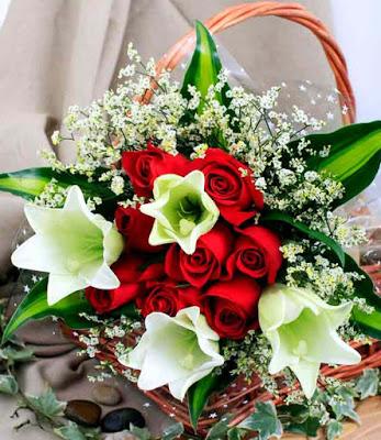صور باقة زهور العيد 2018 زهور للعيد باقات ورود طبيعية