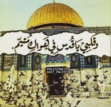 كلام فيس بوك عن القدس , كلمات عن المسجد الاقصى