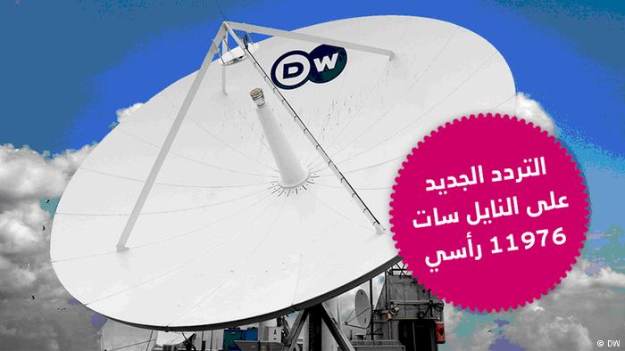 تردد قناة DW عربية بعد تغير ترددها على قمر نايل سات