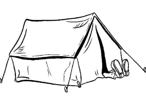 مواجهة المتقدمة لوني كيفية رسم خيمة في الصحراء Arkansawhogsauce Com