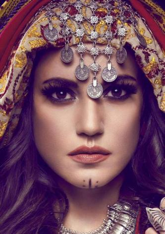 صور تسريحة و مكياج بدوي , صور بنات بالمكياج البدوي