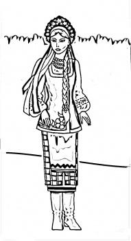 رسومات بنات للتلوين hd , احلى صور بنات جاهزة للتلوين والطباعة