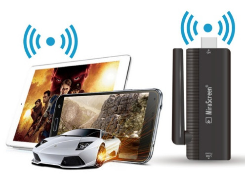 قطعة HDMI Mirascreen لعرض محتوى هاتفك الافلام والبث المباشر على شاشة التلفاز