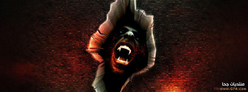 كفرات فيس بوك عفاريت , Horror Facebook Covers