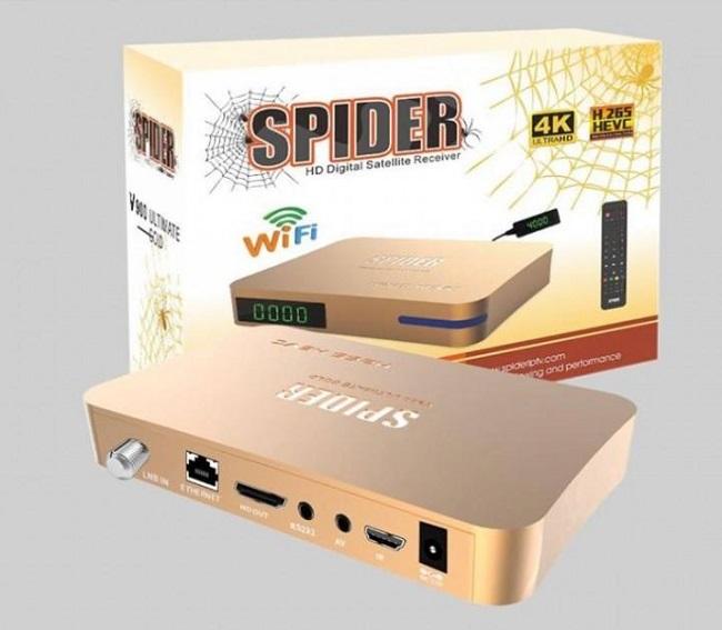 مواصفات رسيفر سبايدر SPIDER V900 , مايتميز به الرسيفر الجديد SPIDER V900