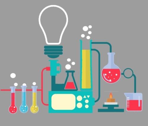 خلفيات كيمياء للكتابة عليها