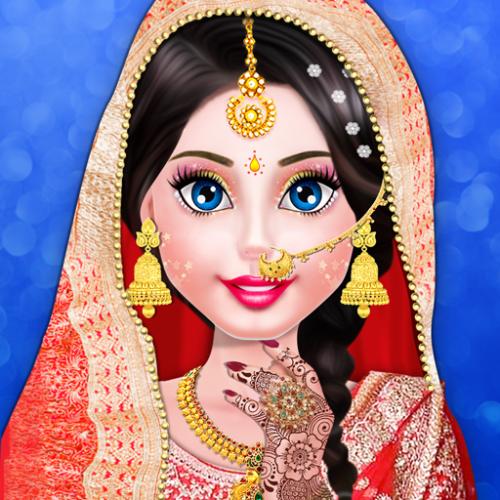 رسومات هندية صور عروس هندية مرسومة رسمة بنت هندية