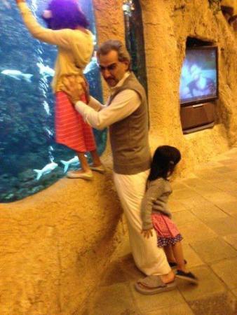 صور الامير الوليد بن طلال مع احفاده , صور جنى و ماريا بنات الوليد بن طلال