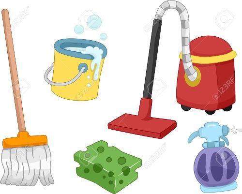 ادوات تنظيف عامة للمدارس , ملصقات عن النظافة ,صور ادوات نظافة للتصميم