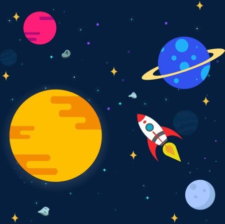 ثيمات فضاء و كواكب ,  ثيم كواكب و نجوم فضائية , كواكب قمر و شمس