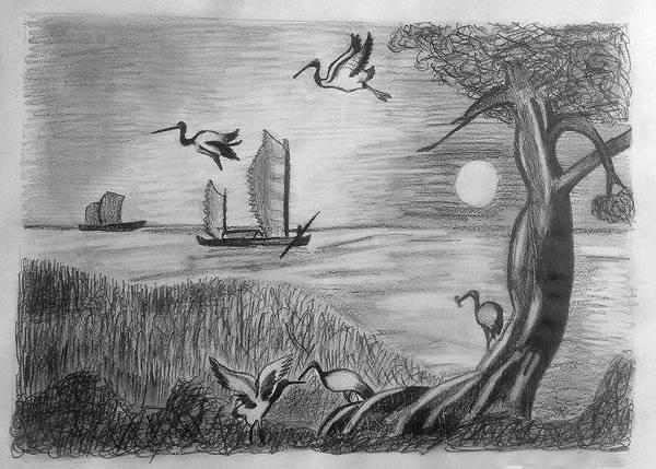 معلومات عن الرسم الحر أدواته ومتطلباته , مهارات الرسم الحر