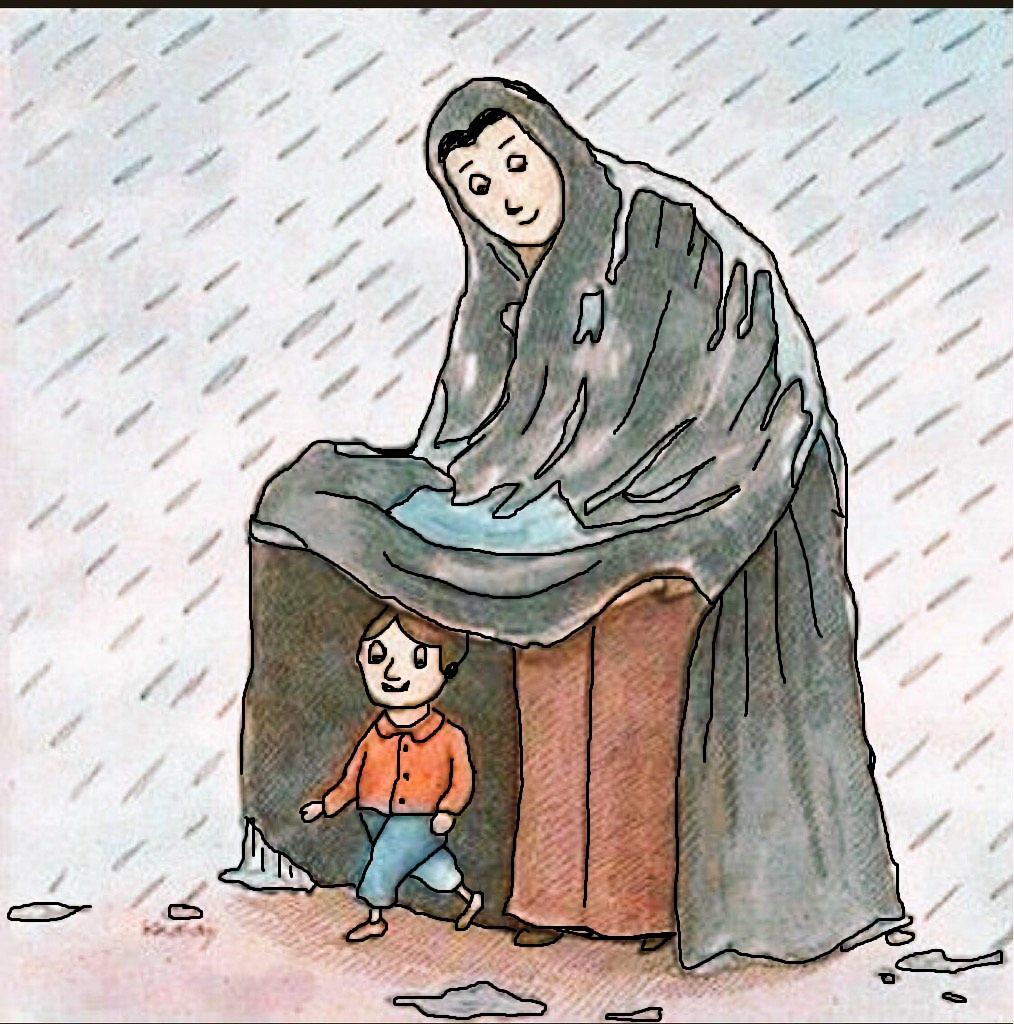 تعبير كتابي عن الام و أجمل كلام عن الأمومة والتضحية