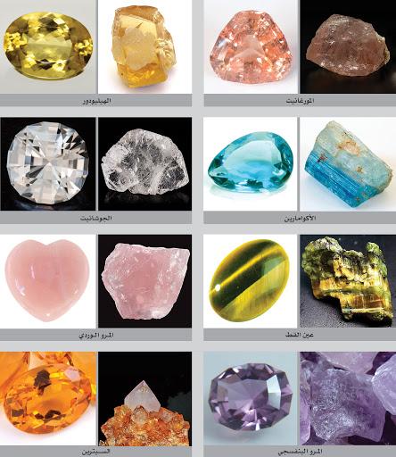 اين توجد الاحجار الكريمة معلومات عن أسماء الأحجار الكريمة ألوانها و أنواعها