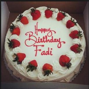 عبارات عيد ميلاد باسم فادي اشعار لعيد الميلاد باسم Fadi