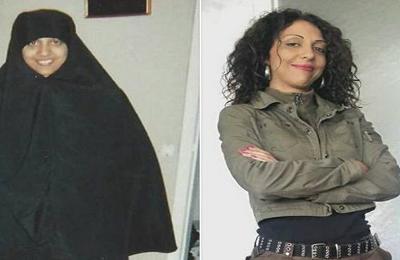 معلومات عن هند العياري التي خلعت حجابها بعد عشرين عام