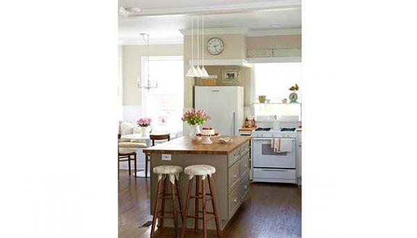 بالصور ديكورات وافكار جديدة للمطابخ ذات المساحة الصغيرة 2013