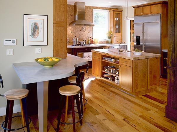 تصاميم مطابخ مفتوحة تجمع بين البساطة والجمال 2013
