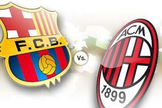 Barcelona vs AC Milan live on ustream 12/3/2013
