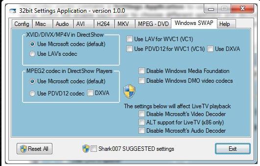 Windows 8 Codecs 1.54 _32bit