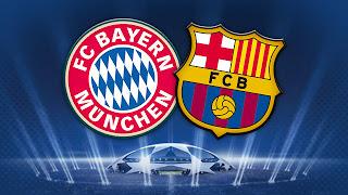 قنوات بث مباراة برشلونه والبايرن 23-4-2013 دورى ابطال اوروبا