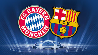 موعد مباراة برشلونة وبايرن ميونخ Barcelona vs Bayern Munich يوم الثلاثاء 23/4/2013