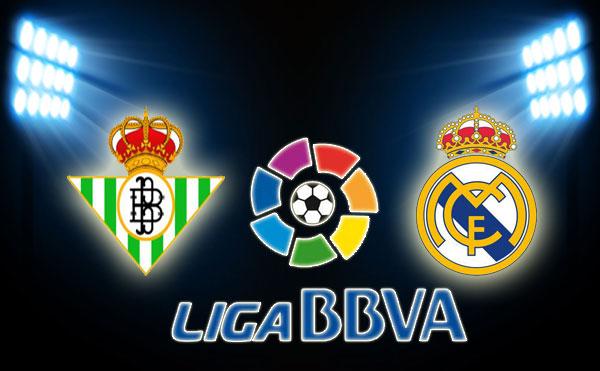 بث مباراة ريال مدريد و ريال بيتيس ضمن الدوري الأسباني 20/4/2013