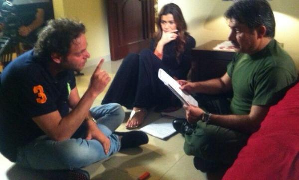 احدث صور الممثلة نادين الراسي تصوير مسلسل ولادة من الخاصرة 2013