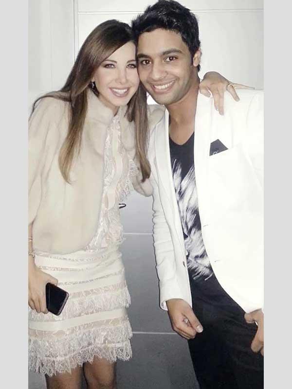 شاهد نانسي عجرم وهى تهمس لأحمد جمال في منطقة الخطر فى Arab Idol 2
