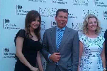 صور نجمات الغناء نانسي عجرم واليسا فى إحتفال السفارة البريطانية بمناسبة إطلاق Marks and Spencer