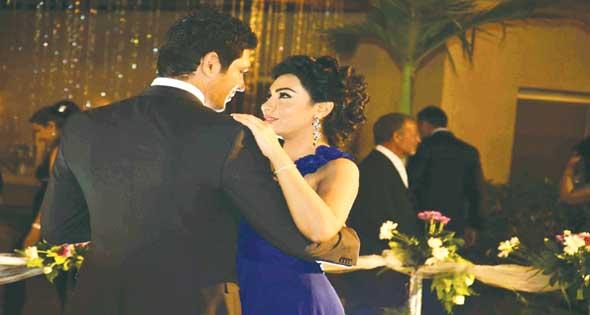 صور خطوبة حسن الرداد وميرهان حسين ضمن أحداث مسلسل آدم وجميلة