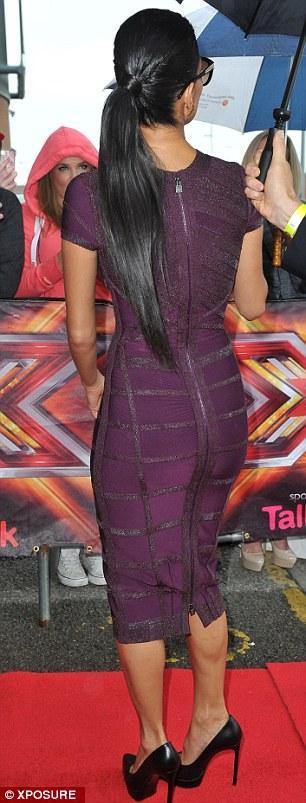 احدث صور النجمة نيكول شوارزينيغر الجولة الاخيرة من إختبارات برنامج X Factor بنسخته البريطانية2013