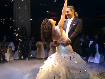 احدث واجمل صور من حفل زفاف الفنانة مايا نصرى 2013