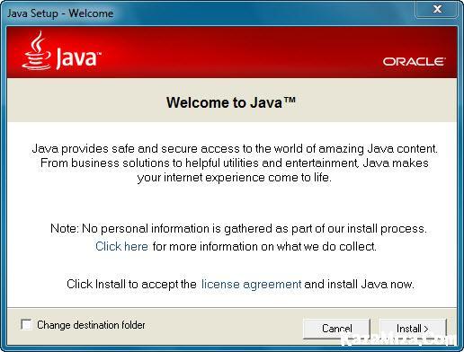 ��� ��� ������� �������� Java runtime environment 8.0 build 93 �� ���� ����� ���