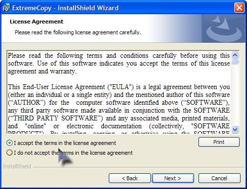 تنزيل برنامج نسخ الملفات بسرعة البرق ExtremeCopy 2.3.2 Pro