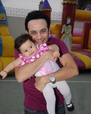 صور احتفال مى سليم بعيد ميلاد ابنتها لى لى وسط مجموعة من الفنانين والمطربين 2013