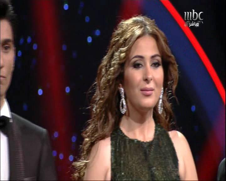 صور لحظة اعلان نتائج عرب ايدول 2 -Arab idol 2 2013
