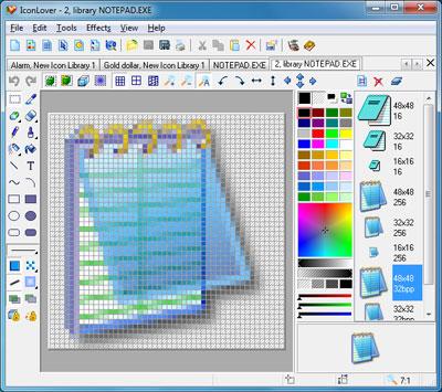 برنامج تصميم الايقونات iconlover.5.35 صمم ايقوناتك بشفافية ودقة عالية وبسهولة تامة