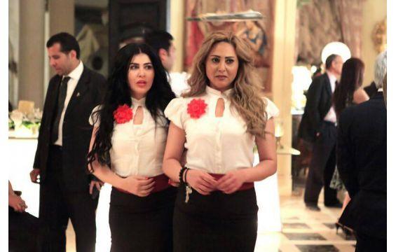 اول صور تنشر لجومانا مراد في مسلسل فرعون 2013