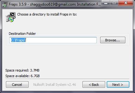 برنامج اخد لقطات فيديو من الالعاب Fraps 3.5.9 تستطيع تصوير فيدوهات داخل الالعاب