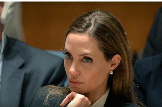 صور النجمة أنجلينا جولي فى جلس الامن الدولي من أجل مواجهة جرائم الاغتصاب 2013