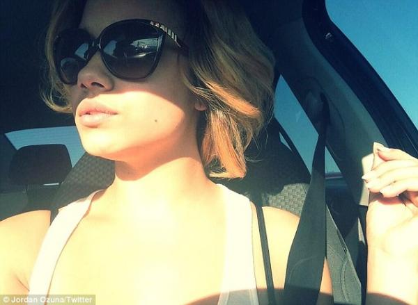 صور حبيبية جاستين بيبر الجديدة تدعى جوردن أوزونا وهي ايضاً عارضة أزياء 2013
