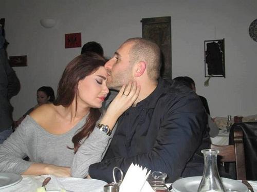 احدث صور الفنانة اللبنانية سيرين عبد النور برفقة زوجها فريد رحمة فى كواليس كليبها حبايبي 2013