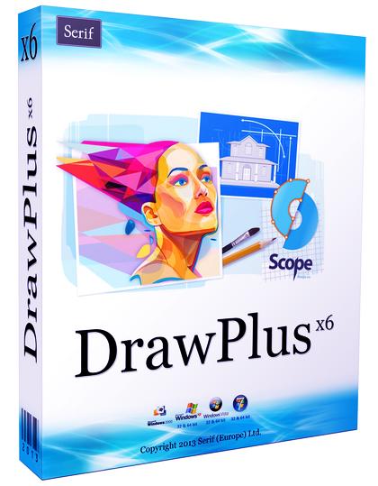 برنامج لتصميم الصور و التعديل عليها و انتاج رسوم متحركة Serif DrawPlus X6 13.0.1.21