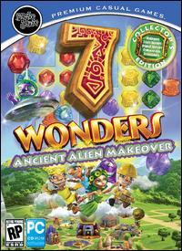 اللعبة الشيقة الممتعه 7 Wonders Ancient Alien Makeover Collector's Edition كاملة