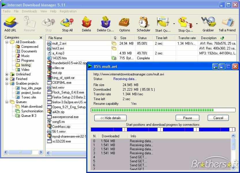 تحميل برنامج انترنت داونلود مانجر Internet Download Manager 6.17 Build 2